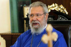Στις Ηνωμένες Πολιτείες εντός του μηνός ο Αρχιεπίσκοπος Κύπρου Χρυσόστομος