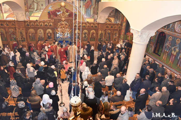 Η Δεσποτική εορτή των Χριστουγέννων στον Καθεδρικό ναό της Ι. Μητρόπολης Γ.Ο.Χ. Αττικής και Βοιωτίας