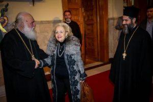 Συναντήσεις Αρχιεπισκόπου Αθηνών