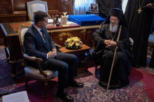 Μήνυμα συμπαθείας του Οικουμενικού Πατριάρχη προς τον Πρόεδρο της Ουκρανίας