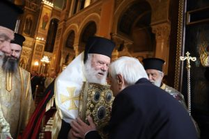 Δοξολογία για το νέο έτος 2020 στον Καθεδρικό Ναό Αθηνών