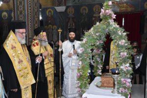 Πάνδημη υποδοχή των Ιερών Λειψάνων των Αγίων Νεομαρτύρων της Μυτιλήνης στη Χαλκίδα