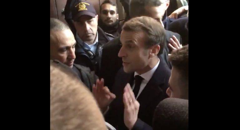 Ο Γάλλος Πρόεδρος κ. Μακρόν πέταξε έξω από Εκκλησία στην Ιερουσαλήμ ισραηλινούς αστυνομικούς