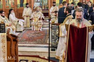 """Ο Λαγκαδά Ιωάννης κατά την αρχαιοπρεπή λειτουργία του Αγίου Γρηγορίου του Θεολόγου: «Το γεγονός της Σωτηρίας που έγινε στην ζωή του Ζακχαίου, θα πρέπει να γίνει και στην ζωή του καθενός μας"""""""