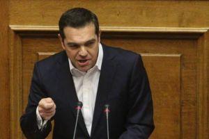 Ο Τσίπρας έκανε … θρησκευτικά στη Βουλή – Και ο Υπουργός Επικρατείας τον διόρθωσε