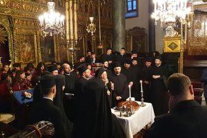 Ο Οικ. Πατριάρχης ευλόγησε την Βασιλόπιτα στο Φανάρι