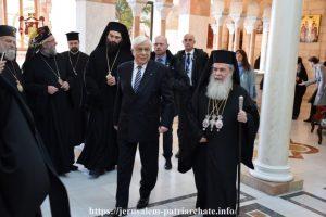 Ευγενική υπόμνηση του ΠτΔ προς τον Θεόφιλο: «Προσβλέπουμε στη στήριξη του Πατριαρχείου Ιεροσολύμων προς το Φανάρι»