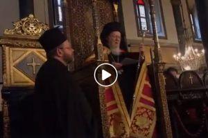 Αποδοκιμασία του Ιεροσολύμων Θεοφίλου από τον Οικουμενικό Πατριάρχη Βαρθολομαίο για τη Σύναξη στο Αμμαν της Ιορδανίας
