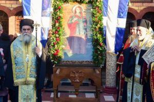 Κλήρος και λαός εόρτασε με κάθε επισημότητα  τα ονομαστήρια του Σεβ. Λαγκαδά Ιωάννη
