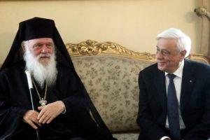 """Πρόεδρος της Δημοκρατίας : """"Η Εορτή των Θεοφανείων δείχνει στους Ελληνες το Χρέος μας"""""""