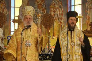 Ο Μητροπολίτης Σύρου Δωρόθεος λειτούργησε στον Ι.Ναό του Αγίου Νεκταρίου Βούλας