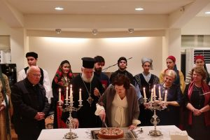 Ο Μητροπολίτης Σύρου Δωρόθεος ευλόγησε την Αγιοβασιλειόπιττα του Λυκείου Ελληνίδων στη Σύρο