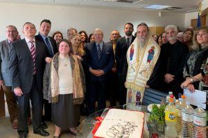 Συνάντηση Γενικού Γραμματέα Αποδήμου Ελληνισμού με τον Σεβασμιώτατο Μητροπολίτη Κισάμου και Σελίνου