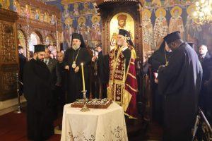 Πανηγυρικός Εσπερινός στο μετόχι του Πατριαρχείου Αλεξανδρείας στην Κυψέλη