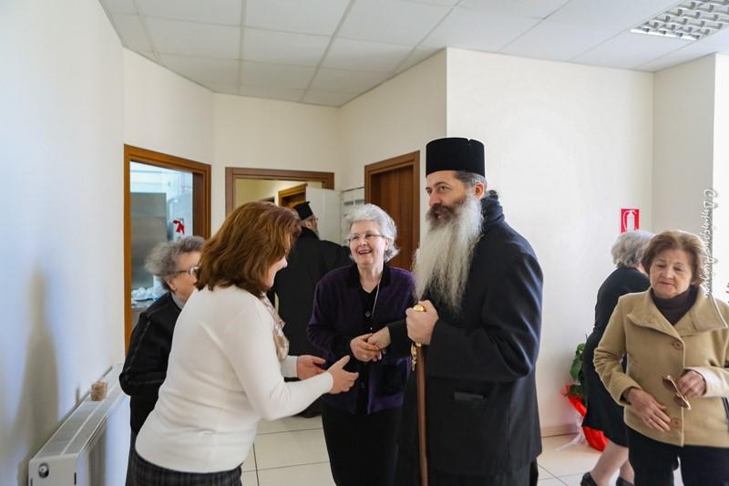 Ο Φθιώτιδος Συμεών ετέλεσε το Ετήσιο Μνημόσυνο της μητρός του Προκατόχου του.