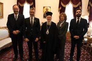Προσκύνημα στο Οικουμενικό Πατριαρχείο από τον Δήμαρχο Θεσσαλονικέων Κωνσταντίνο Ζέρβα