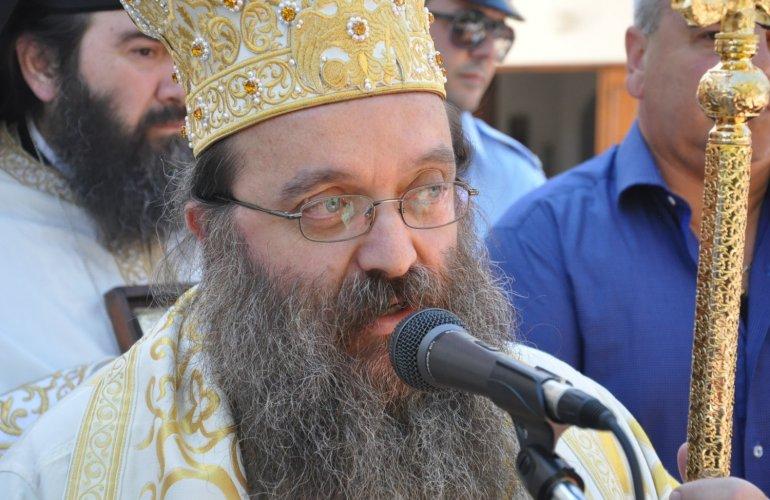 Ιερά Παράκληση από τον Χίου Μάρκο στον Άγιο Γεώργιο Φλώρι στο Αίπος, για την φώτιση των τοπικών αρχόντων