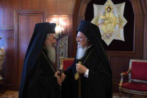 Η σκληρή απάντηση του Οικουμενικού Πατριάρχη στον Θεόφιλο για τη συνάντηση στο Αμμάν