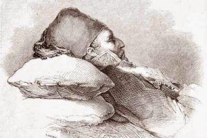 Ο θάνατος του Θεόδωρου Κολοκοτρώνη, αρχιστρατήγου της Ελληνικής Επανάστασης του 1821(4 Φεβρουαρίου 1843)