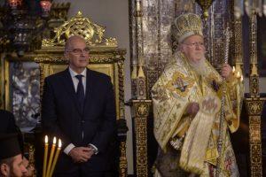 Υπουργός Εξωτερικών και Πατριάρχης