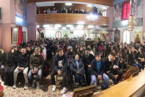 Τριακόσιοι (300) νέοι της Φωκίδος Γυμνασίου – Λυκείου των ενοριακών συνάξεων στην αγκαλιά της Εκκλησίας μας
