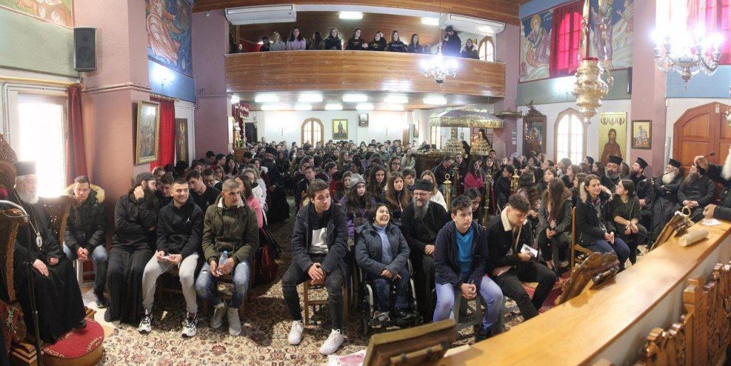 You are currently viewing Τριακόσιοι (300) νέοι της Φωκίδος Γυμνασίου – Λυκείου των ενοριακών συνάξεων στην αγκαλιά της Εκκλησίας μας
