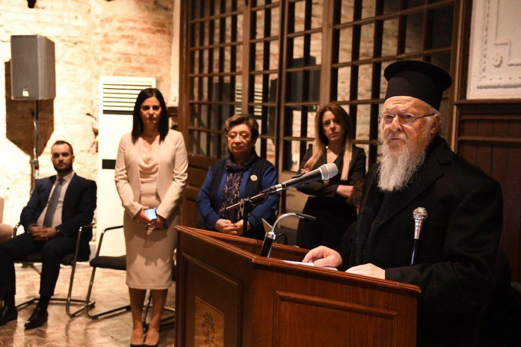 Οικουμενικός Πατριάρχης: Όλοι σας δύνασθε και οφείλετε να συμβάλετε από κοινού εις την πορείαν της Ομογενείας προς το μέλλον