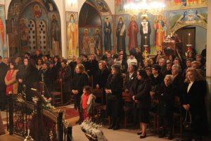Ο Πρωτοσύγκελλός της Ι.Μ. Φωκίδος στον Ιερό Ναό Αγίου Χαραλάμπους Ιτέας