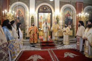 15 xρόνια Ἀρχιερατείας τοῦ Μητροπολίτου Πατρῶν Χρυσοστόμου.