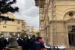 Αδιαθεσία από την συγκίνηση του Αρχιεπισκόπου Κρήτης Ειρηναίου στην επετειακή Συνοδική Θεία Λειτουργία