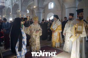 Στον Άγιο Χαράλαμπο του Τσεσμέ την Κυριακή ο Οικουμενικός Πατριάρχης