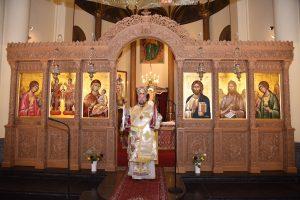 Πρώτη Θεία Λειτουργία του Επισκόπου Απολλωνιάδος Ιωακείμ στις Βρυξέλλες
