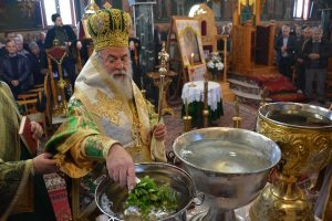 Η εορτή του Αγίου Τρύφωνος στο Ελευθεραί Ελευθερών στην Ι.Μ. Ιλίου