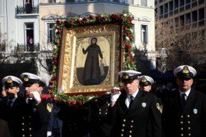 Η Αθήνα εόρτασε με δόξα και τιμή την Αγία της κυρά Φιλοθέη