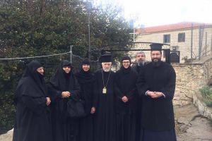 Ευλαβικό προσκύνημα του Μητροπολίτου Φιλαδελφείας Μελίτωνος  σε Μονές της Μεσσηνίας