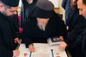Επικύρωση αγιοκατάταξης 7 Νεομαρτύρων για την ηρωική Καστοριά από τον Οικουμενικό Πατριάρχη