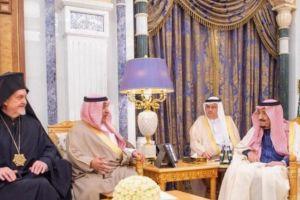 Με τον Βασιλιά της Σαουδικής Αραβίας συναντήθηκε ο Γαλλίας Εμμανουήλ
