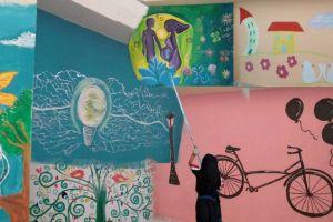 Έργο τέχνης το ΕΠΑΛ Σιάτιστας! Οι μαθητές έκαναν το σχολείο τους μια ζωγραφιά
