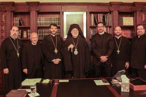 Πέντε αρχιεπισκοπικές περιφέρειες στην Αρχιεπισκοπή Αμερικής