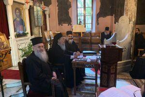 Εκλογές νέων Ηγουμενοσυμβούλων στην Ιερά Μονή Πετράκη