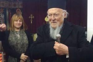 Συγκινητικές στιγμές με τον Οικουμενικό Πατριάρχη στην πρώτη του επίσκεψη στην Μητρόπολη Βρυούλων