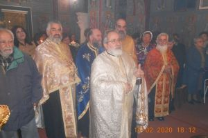 Ο Μέγας Εσπερινός του Αγίου Ανθίμου στον ομώνυμο ναό του στα Λειβάδια Χίου