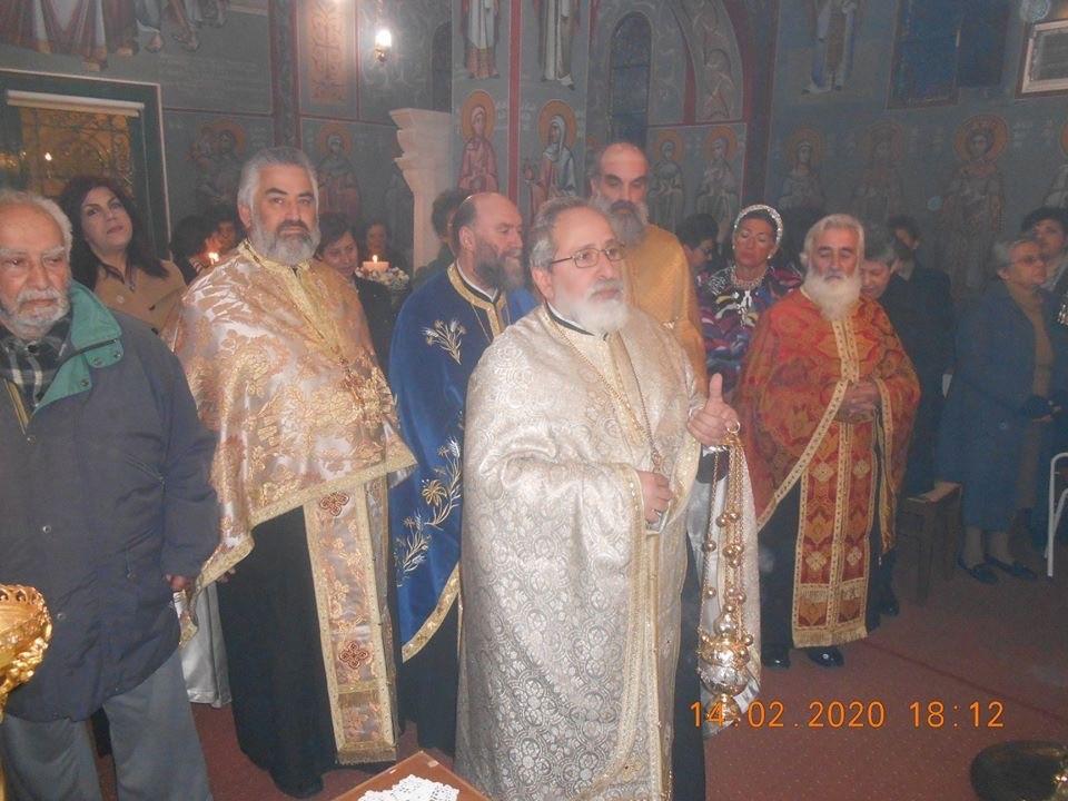 You are currently viewing Ο Μέγας Εσπερινός του Αγίου Ανθίμου στον ομώνυμο ναό του στα Λειβάδια Χίου