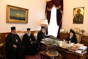 Αυστηρό μήνυμα Βαρθολομαίου προς Ιεροσόλυμα: Είστε αναρμόδιοι να συγκαλείτε Προκαθημένους
