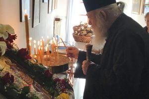 Ο Αρχιεπίσκοπος Ιερώνυμος εόρτασε τους Αγίους Θεοδώρους στο «ταμιείον» του στη Ζάλτσα