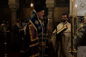 Α ´ Στάση  Χαιρετισμών  στον Μητροπολιτικό ναό των Παρισίων