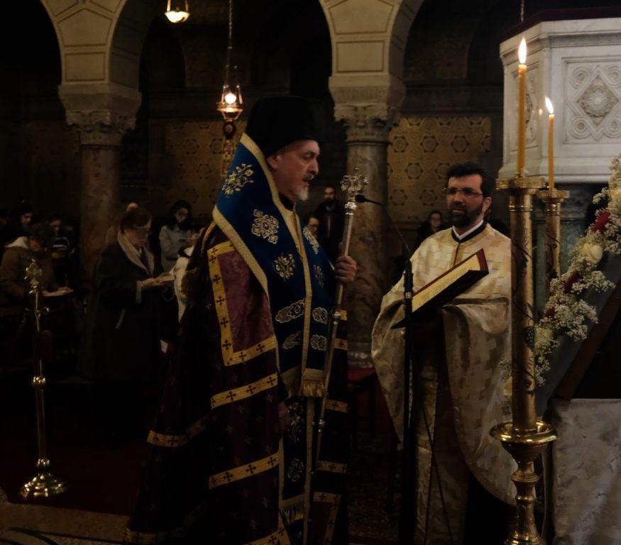 You are currently viewing Α ´ Στάση  Χαιρετισμών  στον Μητροπολιτικό ναό των Παρισίων