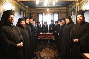 Ο Αρχιεπίακοπος Κύπρου στις εργασίες της Ι.Σ. του Οικουμενικού Θρόνου