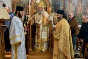 Κυριακή της Τυρινής στην Αγιοτόκο Χίο -στην Εκκλησία της Αγίας Ματρώνας των ΓΟΧ