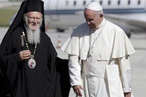 Ανταποκρίθηκε ο Βαρθολομαίος στο κάλεσμα του Πάπα για κοινή προσευχή